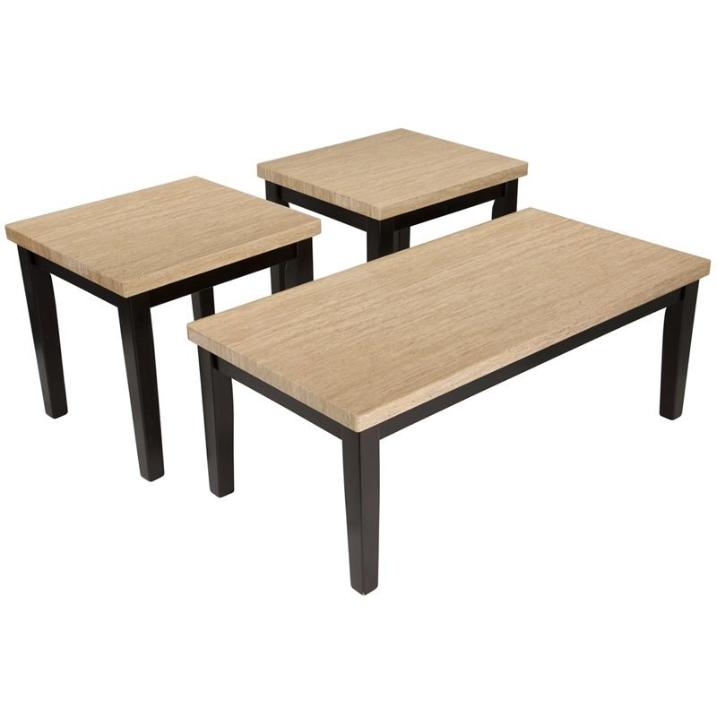 Flash Furniture FSD-TS3-53ES-GG Signature Design by Ashley Wilder, 3 Piece Occasional Table Set