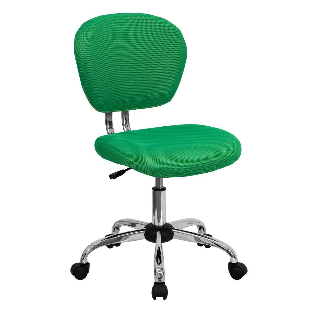 Flash Furniture H-2376-F-BRGRN-GG Mid-Back Bright Green Mesh Task Chair