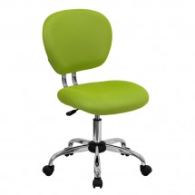 Flash Furniture H-2376-F-GN-GG Mid-Back Apple Green Mesh Task Chair