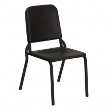 Flash Furniture HF-MUSIC-GG HERCULES Series Black High Density Stackable Melody Band / Music Chair