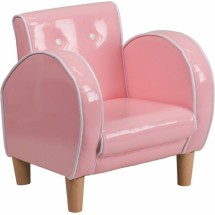 Flash Furniture HR-15-GG Kids Pink Vinyl Chair