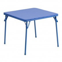 Flash Furniture JB-TABLE-GG Blue Kids Folding Table