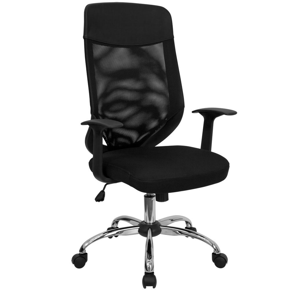 Flash Furniture LF-W952-GG High Back Mesh Office Chair with Mesh Fabric Seat