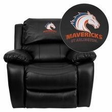 Flash Furniture MEN-DA3439-91-BK-41097-EMB-GG Texas at Arlington Mavericks Embroidered Black Leather Rocker Recliner