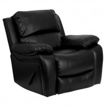 Flash Furniture MEN-DA3439-91-BK-GG Black Leather Rocker Recliner