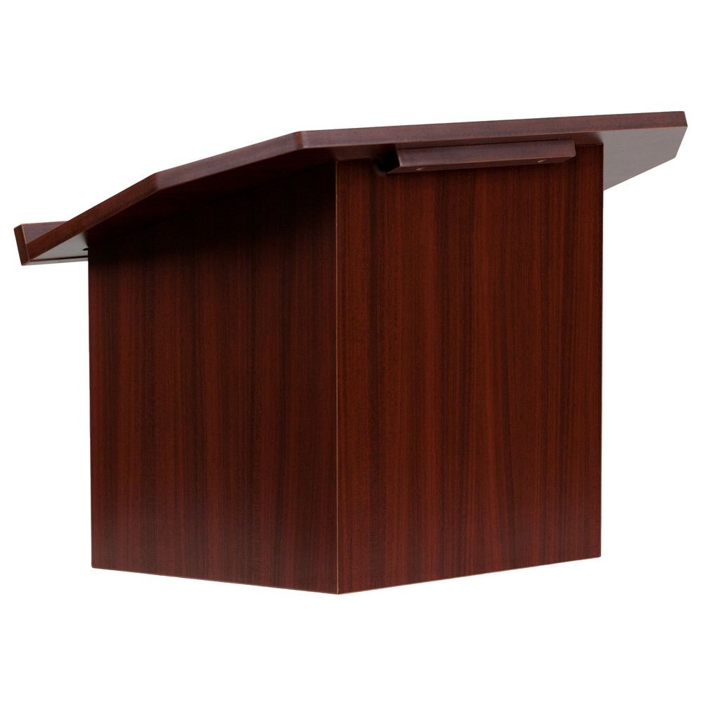 Flash Furniture MT-M8833-LECT-GG Foldable Mahogany Tabletop Lectern