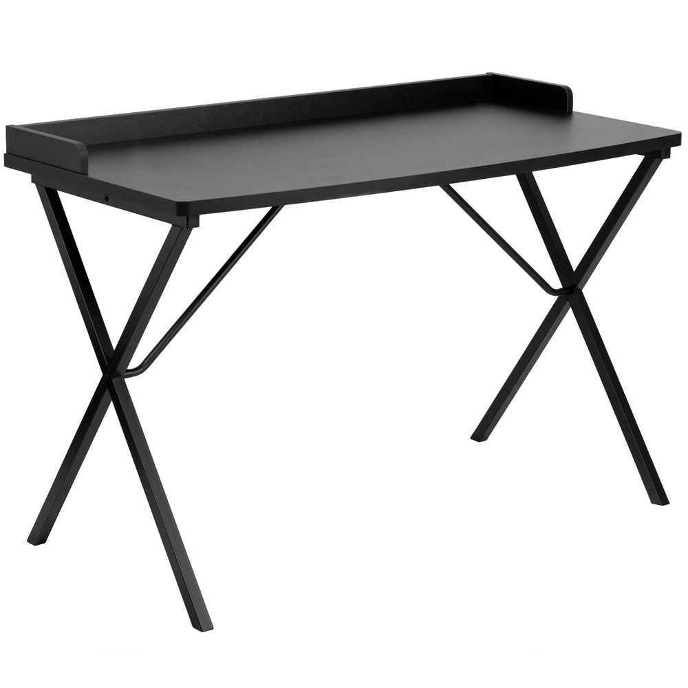 Flash Furniture NAN-2140-BK-GG Black Computer Desk