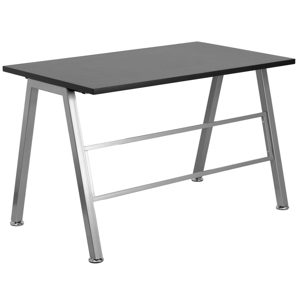 Flash Furniture NAN-JN-2804W-GG High Profile Desk