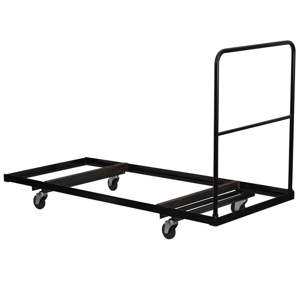 Flash Furniture NG-DY3072-GG Black Steel Folding Table Dolly for 30