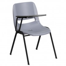 Flash-Furniture-RUT-EO1-GY-RTAB-GG-Gray-Ergonomic-Shell-Chair-with-Right-Handed-Flip-Up-Tablet-Arm