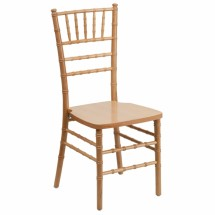 Flash Furniture SZ-NATURAL-GG Flash Elegance Supreme Natural Wood Chiavari Chair