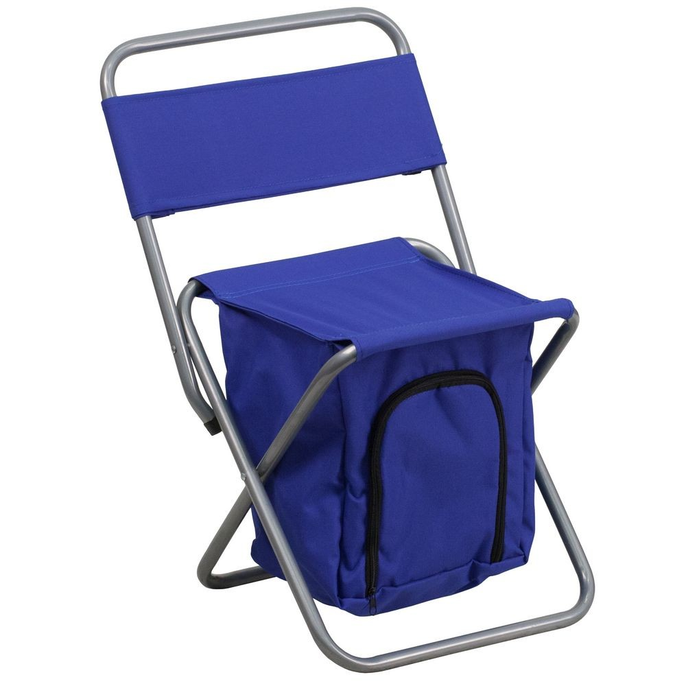 Pleasing Flash Furniture Ty1262 Bl Gg Blue Folding Camping Chair With Machost Co Dining Chair Design Ideas Machostcouk