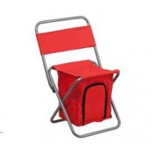 Flash Furniture TY1262-RD-GG Red Folding Camping Chair with Insulated Storage