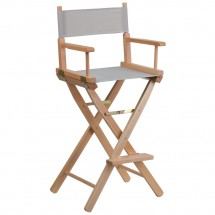 Flash Furniture TYD01-GY-GG Gray Bar Height Directors Chair