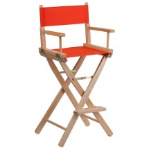 Flash Furniture TYD01-RD-GG Red Bar Height Directors Chair