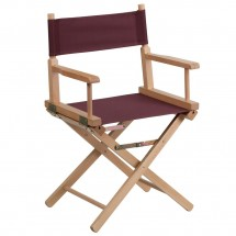 Flash Furniture TYD02-BN-GG Brown Standard Height Directors Chair