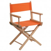 Flash Furniture TYD02-OR-GG Orange Standard Height Directors Chair