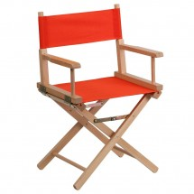 Flash Furniture TYD02-RD-GG Red Standard Height Directors Chair