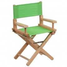Flash Furniture TYD03-GN-GG Green Kid Size Directors Chair