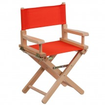 Flash Furniture TYD03-RD-GG Red Kid Size Directors Chair
