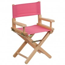 Flash Furniture TYD03-PK-GG Pink Kid Size Directors Chair
