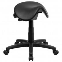 Flash Furniture WL-915MG-GG Backless Saddle Stool