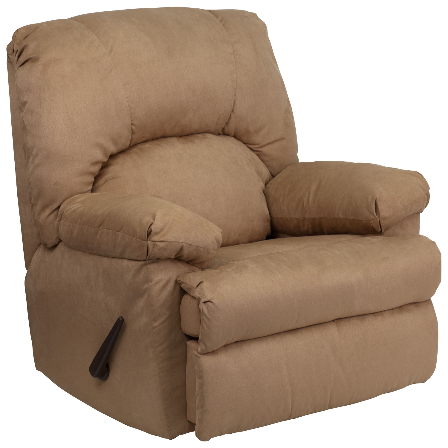 Flash Furniture WM-8500-264-GG Contemporary Montana Latte Mircofiber Suede Rocker Recliner