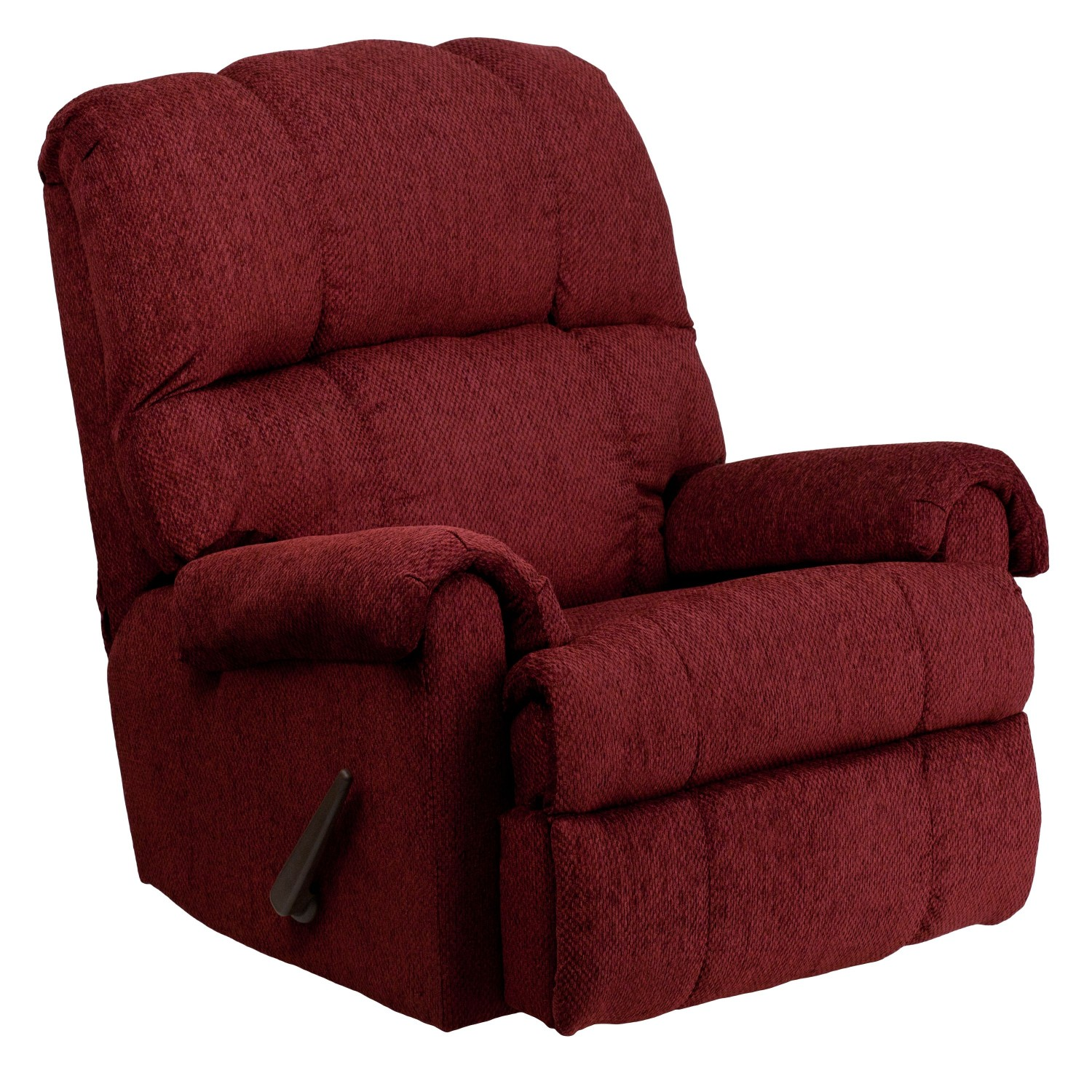 Flash Furniture WM-8700-213-GG Contemporary Tahoe Burgundy Chenille Rocker Recliner