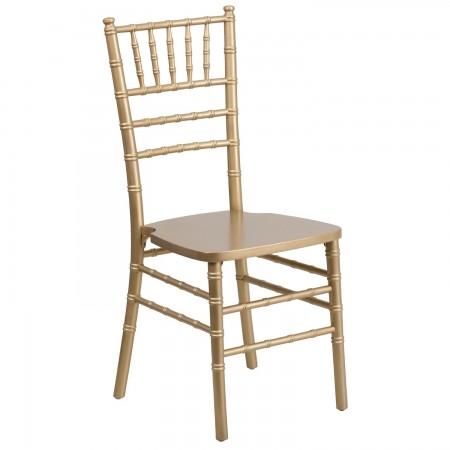 Flash Furniture XS-GOLD-GG Flash Elegance Supreme Gold Wood Chiavari Chair