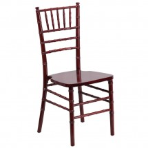 Flash Furniture XS-MAHOGANY-GG Flash Elegance Supreme Mahogany Wood Chiavari Chair