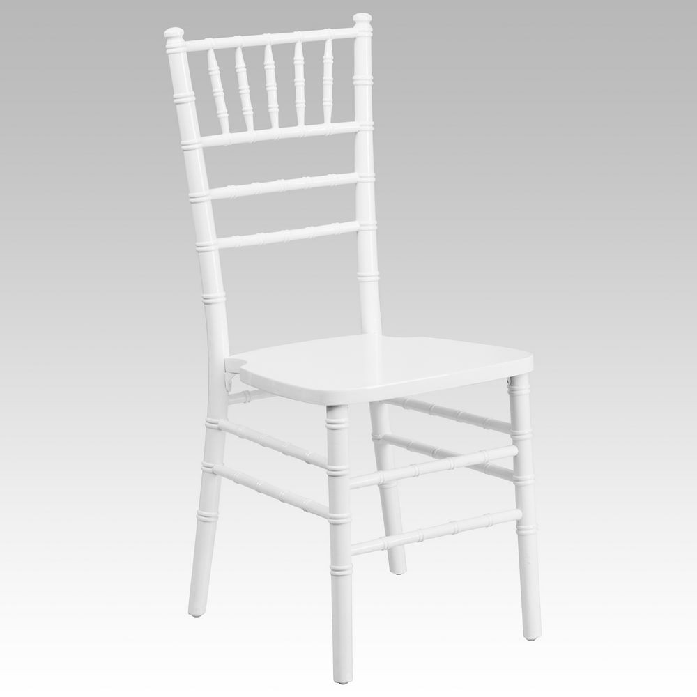 Furniture XS WHITE GG White Wood Flash Elegance Chiavari Chair