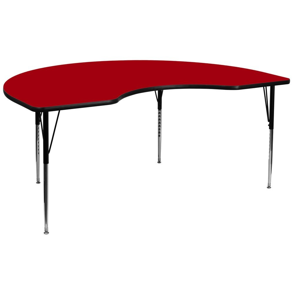 Flash Furniture XU-A4896-KIDNY-RED-T-A-GG 48