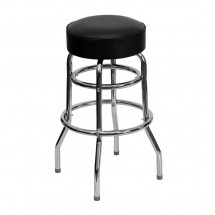 Flash-Furniture-XU-D-100-GG-Chrome-Double-Ring-Bar-Stool