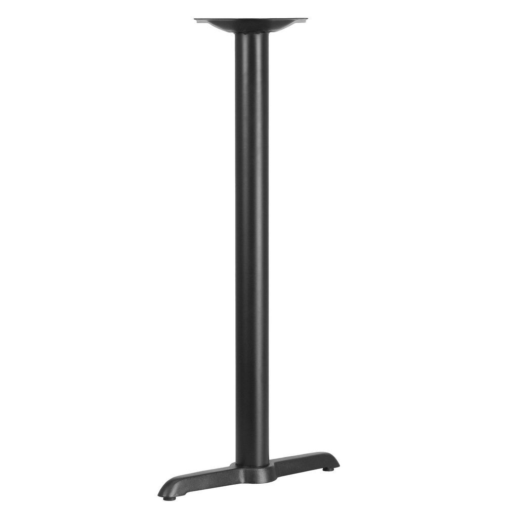 Flash Furniture XU-T0522-BAR-GG 5'' x 22'' Restaurant Table T-Base with 3'' Dia. Bar Height Column