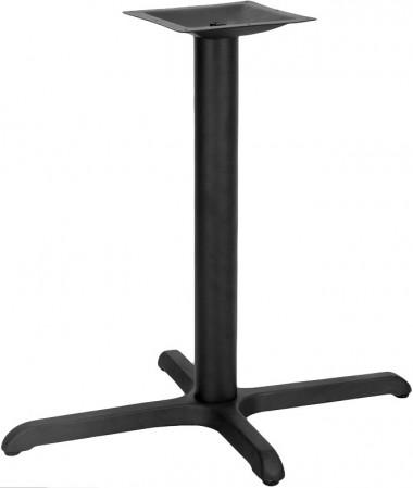 """Flash Furniture XU-T2230-GG Restaurant Table X-Base with 3"""" Dia. Table Height Column 22"""" x 30"""""""