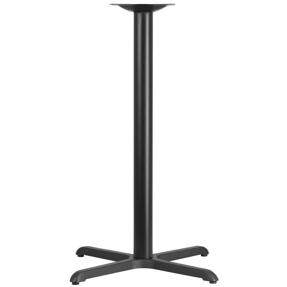 "Flash Furniture XU-T3030-BAR-GG Restaurant Table X-Base with 3"" Dia. Bar Height Column 30"" x 30"""