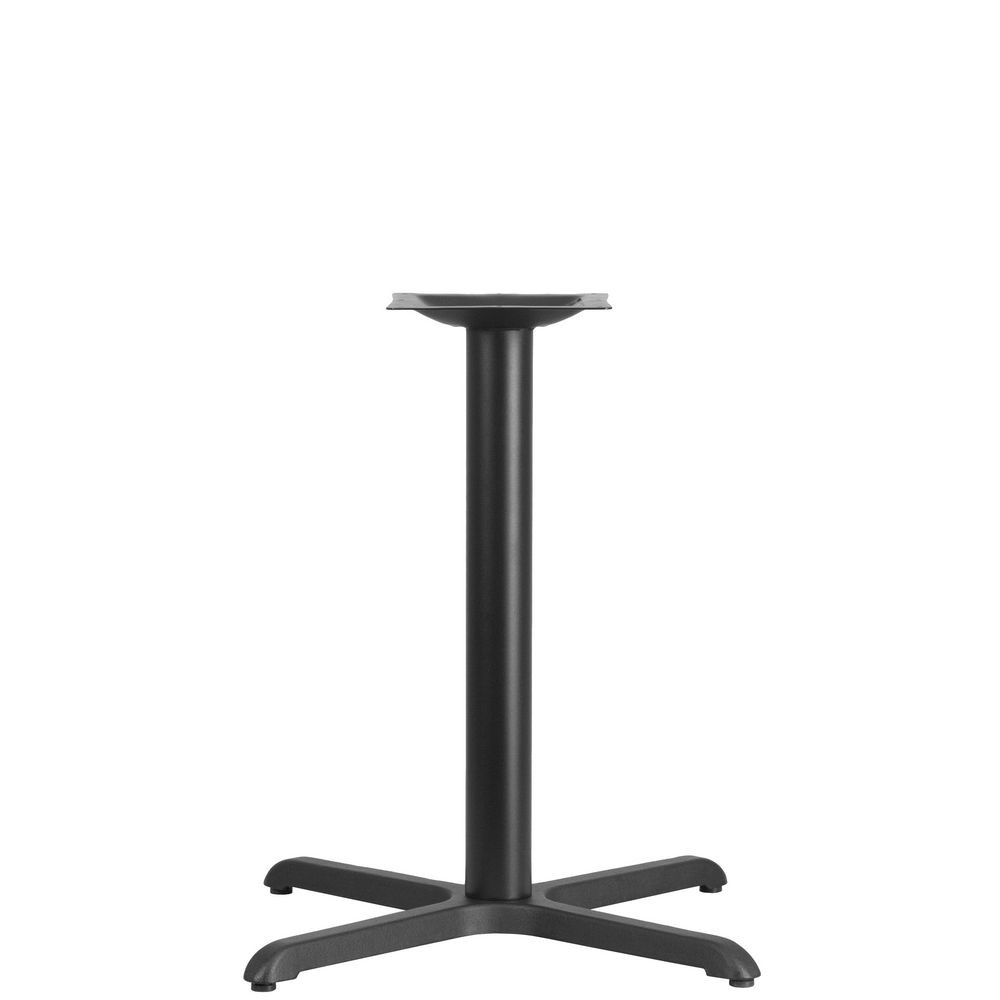 "Flash Furniture XU-T3030-GG Restaurant Table X-Base with 3"" Dia. Table Height Column 30"" x 30"""