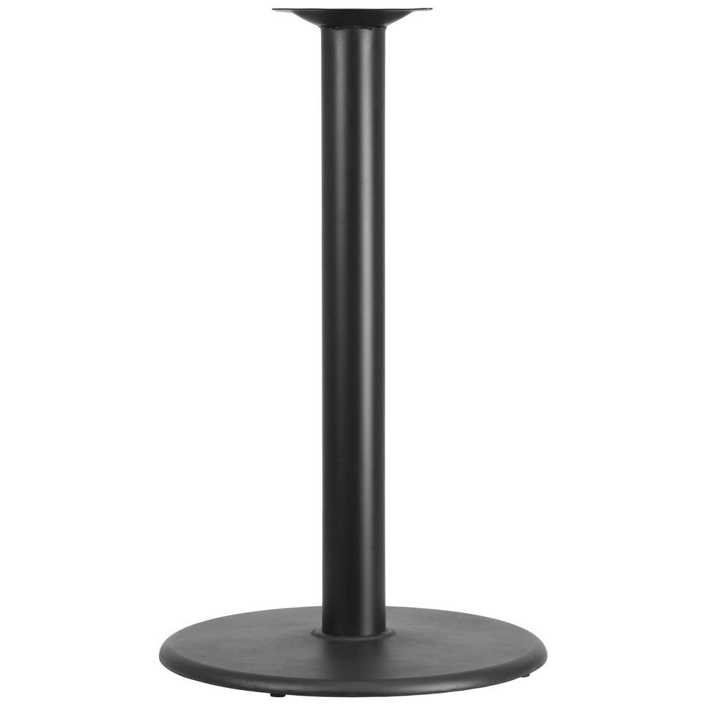 "Flash Furniture XU-TR24-BAR-GG Round Restaurant Table Base with 4"" Dia. Bar Height Column 24"""