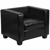 Flash Furniture Y-H901-1-BK-LEA-GG Prestige Series Black Leather Chair