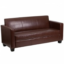 Flash-Furniture-Y-H902-3-BN-LEA-GG-Grand-Series-Brown-Leather-Sofa
