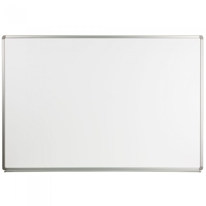Flash Furniture YU-120X180-WHITE-GG Magnetic Marker Board 6 ft. x 4 ft.