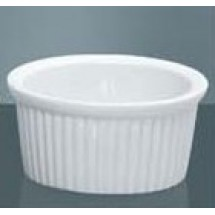 Yanco China RK-110 Fluted Ramekin Dish, 10 oz.