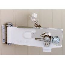 Focus Foodservice 609WH Swing-A-Way Can Opener with Magnetic Wall Mount - 1/2 doz