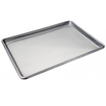 Focus Foodservice 901826SS Full Size Stainless Steel Bun Pan - 1/2 doz