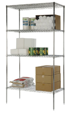Focus Foodservice FF1448C 14 x 48 Wire Shelf