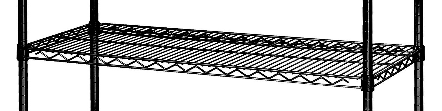 Focus Foodservice FF1842BK 18 x 42 Wire Shelf