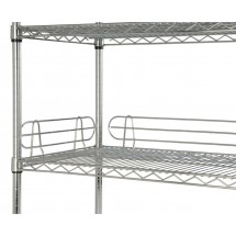 Focus Foodservice FL214C 21'' Shelf Ledge - 4 pcs
