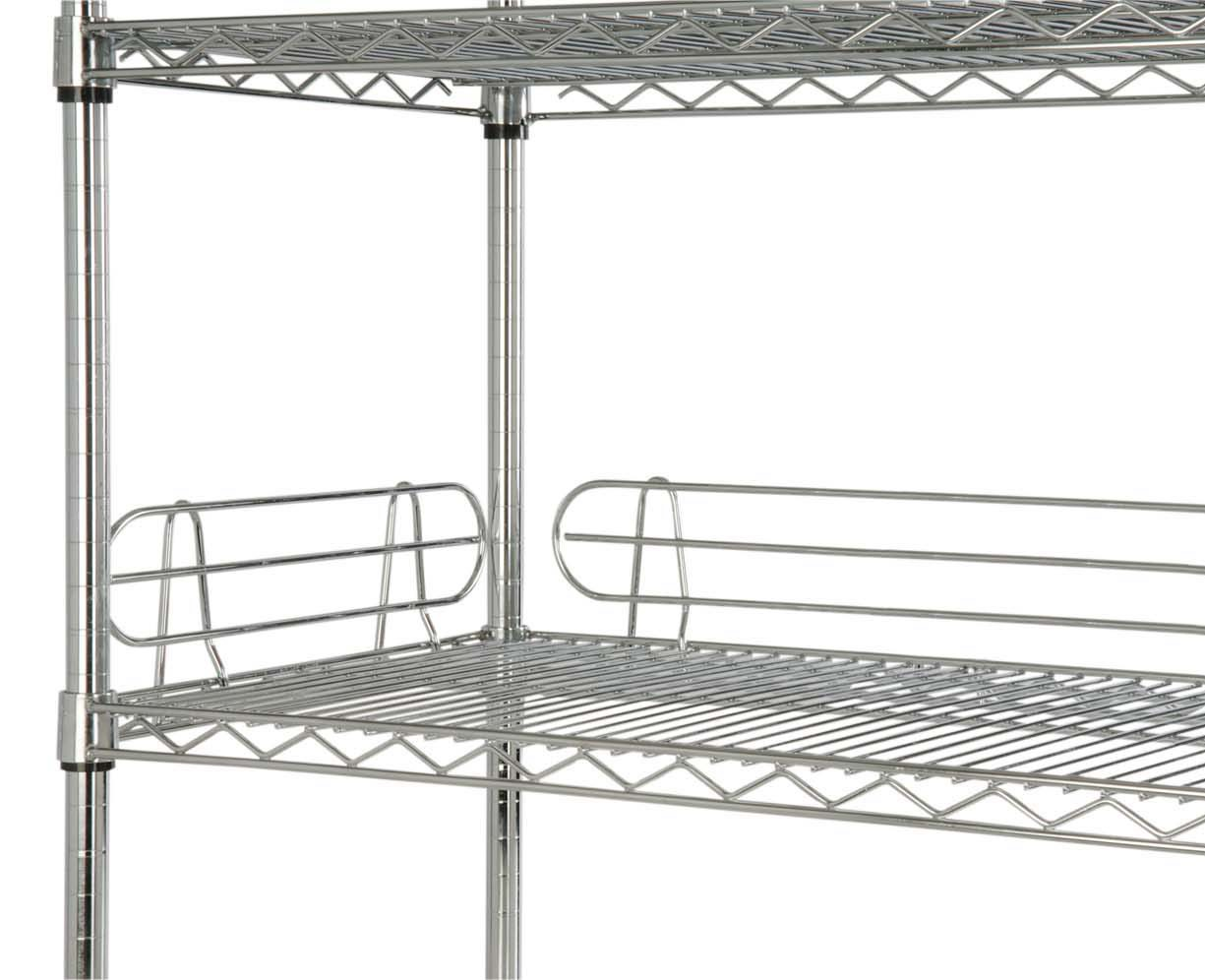 Focus Foodservice FL244C 24'' Shelf Ledge - 4 pcs