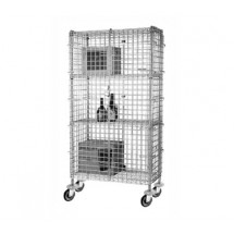 Focus Foodservice FMSEC2436 24'' Security Cage Complete Mobile Kit