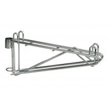 Focus Foodservice FPMB24DCH Post Mount Wall Brackets for 24